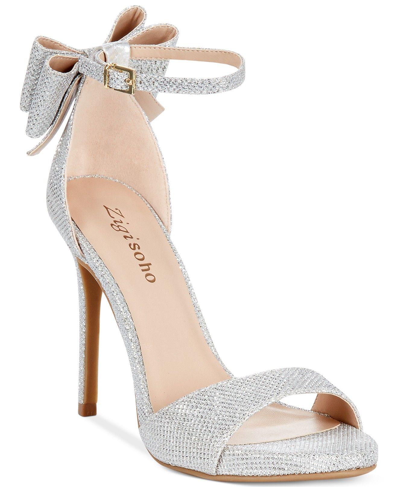 Zigi Soho Remi Two Piece Dress Sandals Evening Bridal Shoes Macy S Evening Shoes Heels Bridal Shoes