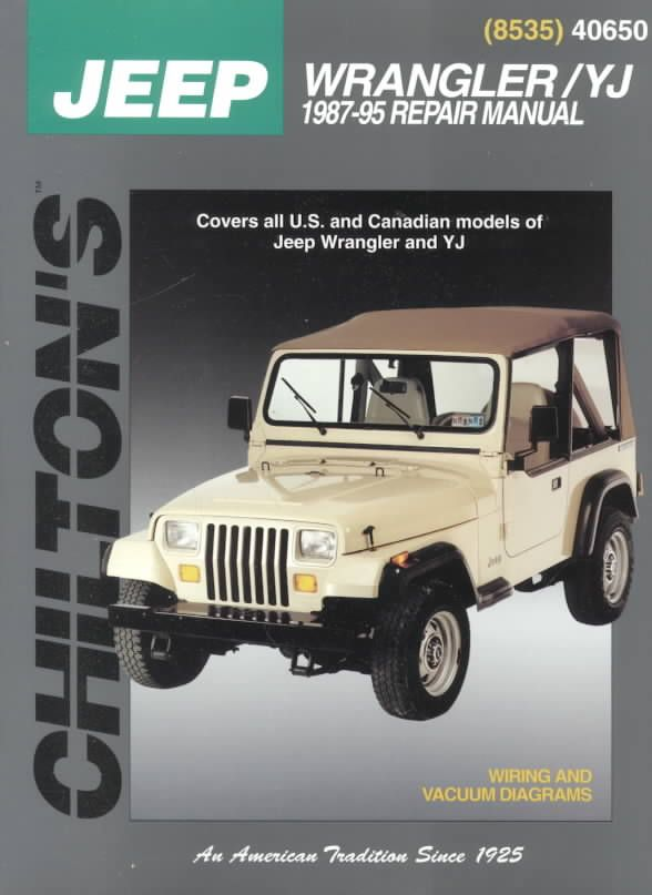 Jeep Wrangler Yj Service Manual User Guide Manual That Easy To Read U2022  Rh Wowomg Co Jeep Wrangler Yj Owners Manual Pdf 1995 Jeep Wrangler Yj  Owners ...