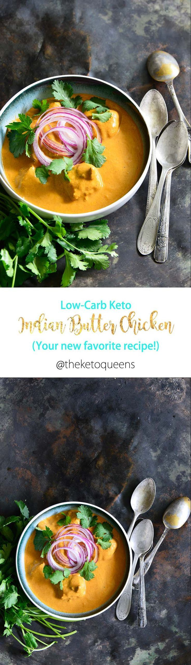 Easy low carb keto indian butter chicken recipe recipe
