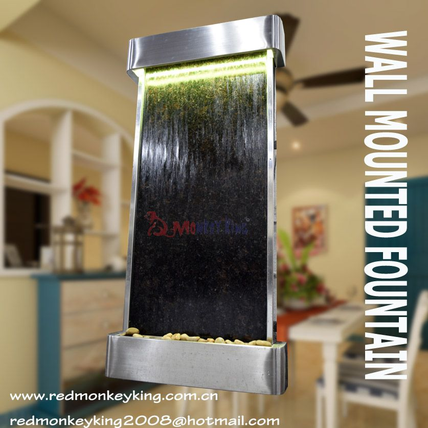 Pin By Indoor Waterfall Fountain On Indoor Waterfall Fountains Wall Fountain Indoor Waterfall Fountain Indoor Waterfall