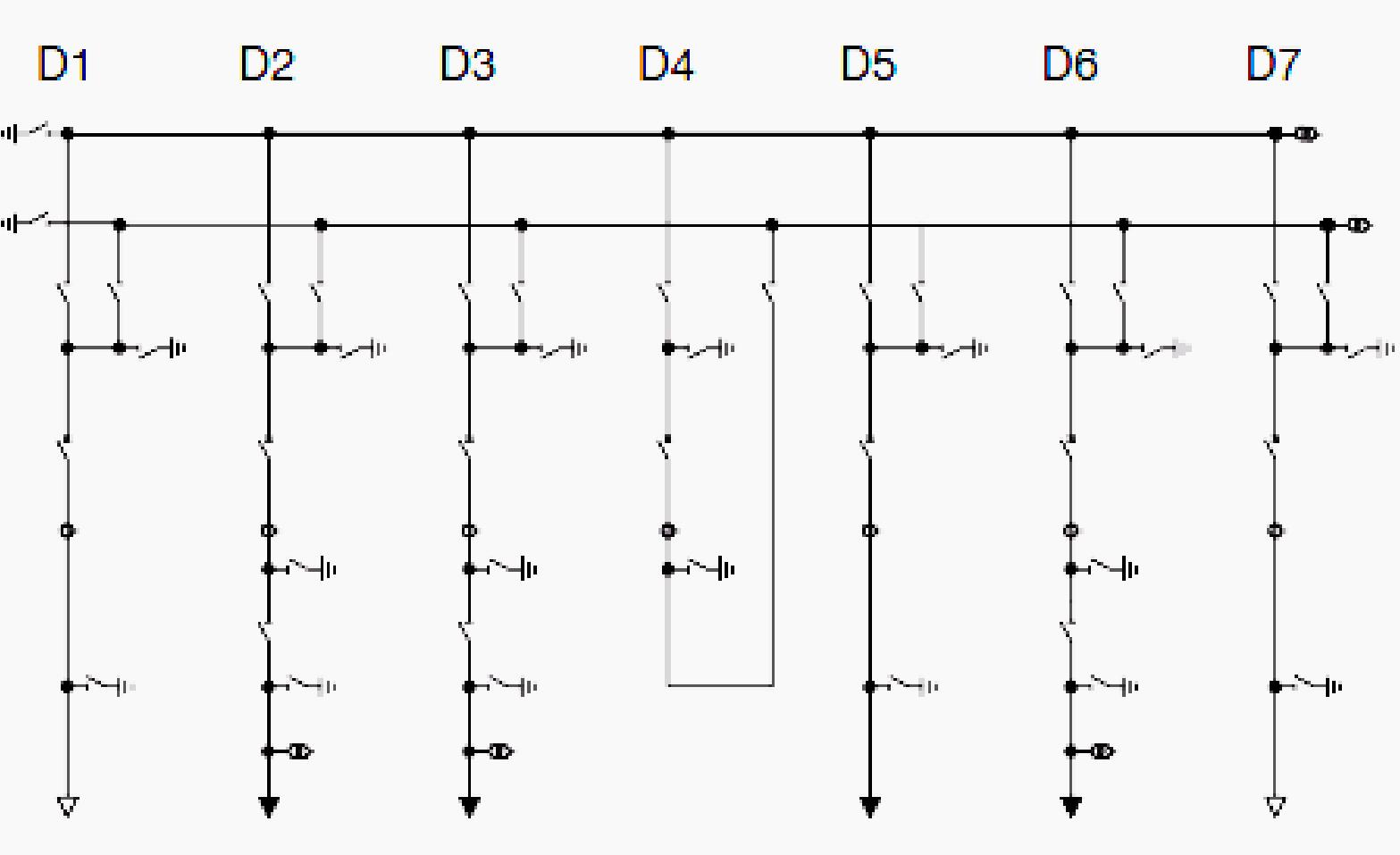 single line diagram of double busbar [ 1567 x 957 Pixel ]