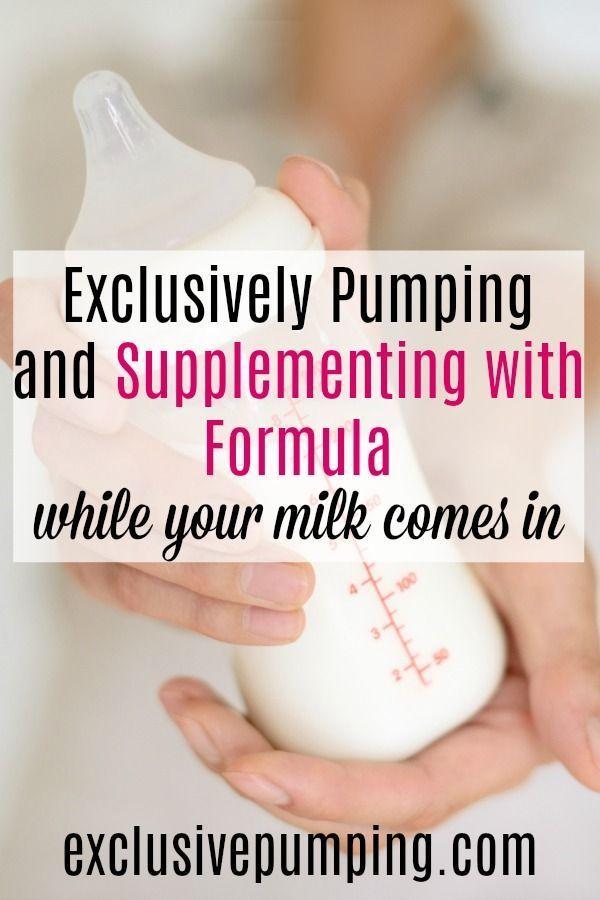 Črpanje in dopolnjevanje s formulo pred mlekom-7321