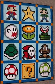Google Image Result for http://geekcrafts.com/wp-content/geek_craft_images/2013/04/mario-quilt.jpg