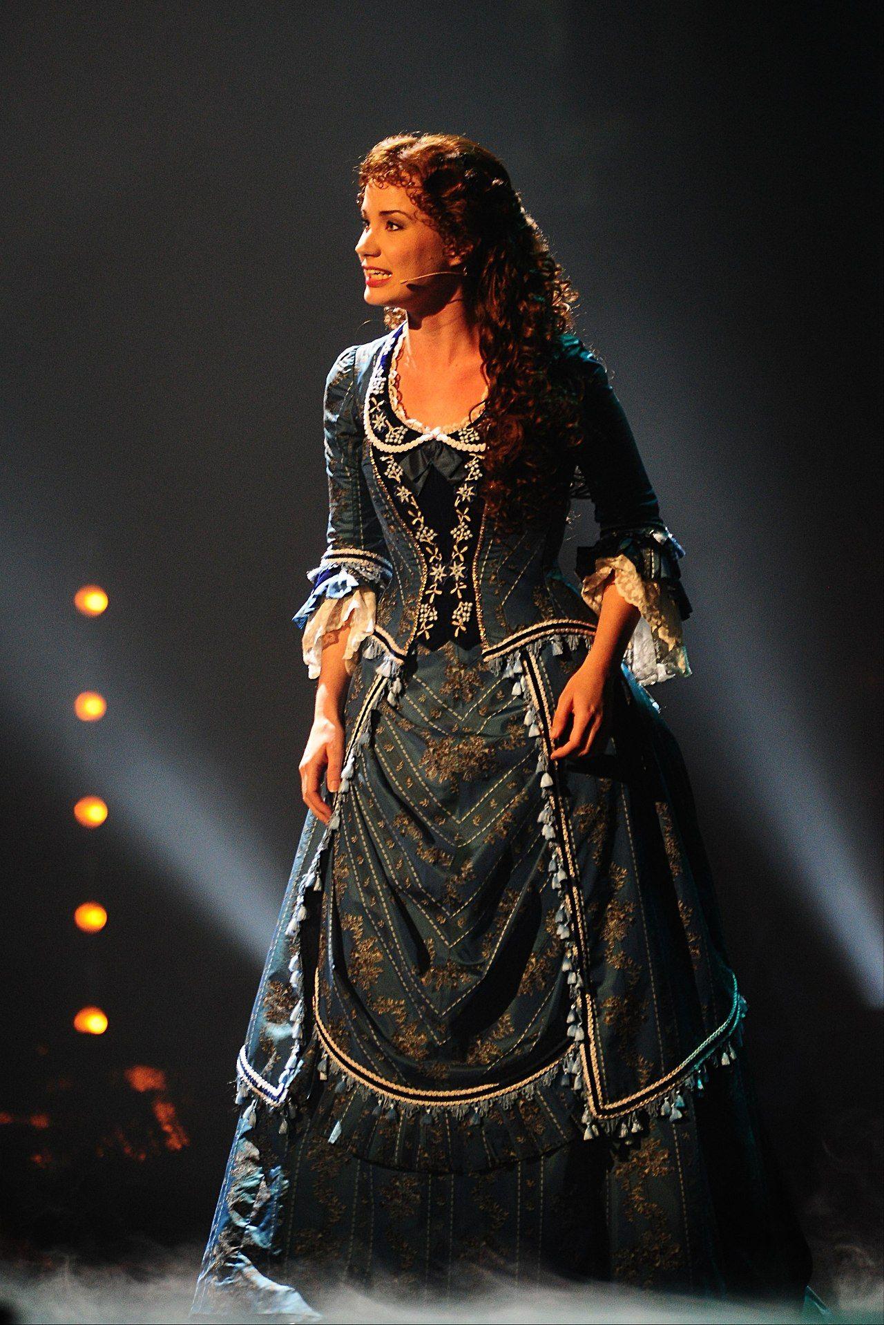 sierra boggess phantom of the opera wishing you were
