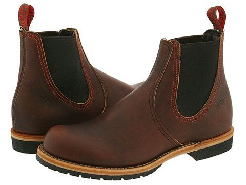5406ffed5bd Red Wing Heritage Chelsea Rancher Briar Oil Slick Leather   Shoe ...