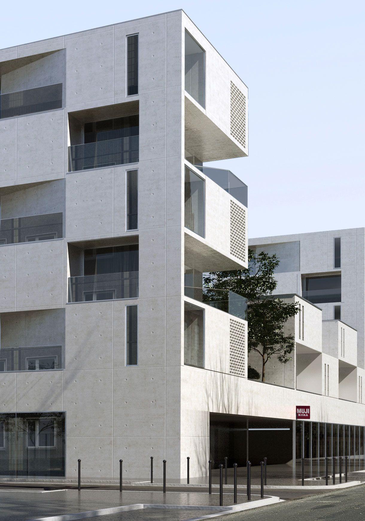 Agence d architecture aum lyon architecture logements - Arquitectura lyon ...