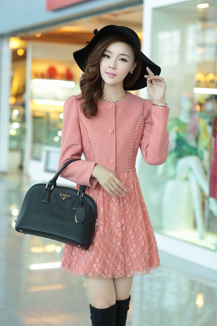 Cashmere Dress, Cashmere Coat, Lace Skirt, Woolen Top, YRB clothing ...