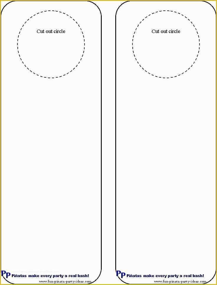 Free Church Door Hanger Template Of Cool Idea For Diy Door Hangers Miscellaneous Heritagechristiancollege Door Hanger Template Door Hangers Diy Door