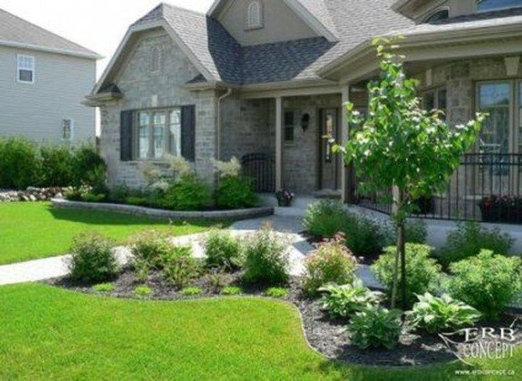 39 Pretty Landscaping Ideas For Front Yard To Try Front House
