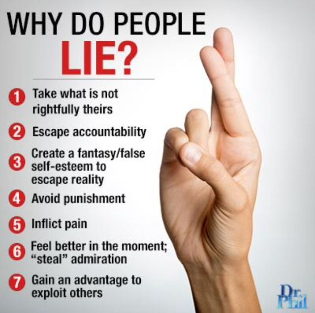 7 Reasons People Lie  Life Quotes  People Lie -4895