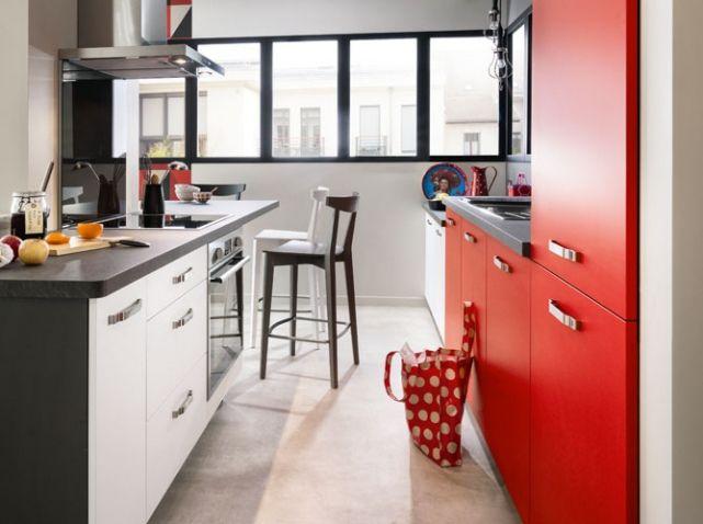 Petite cuisine d couvrez toutes nos inspirations elle d coration cuisine petite cuisine - Petite cuisine rouge ...