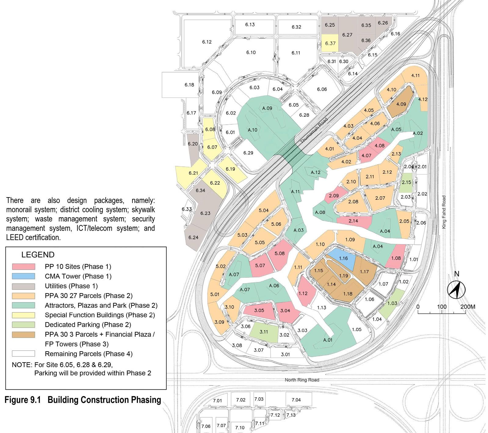 King Abdullah Financial District Site Plan Site Plan Financial District Alphabet Preschool