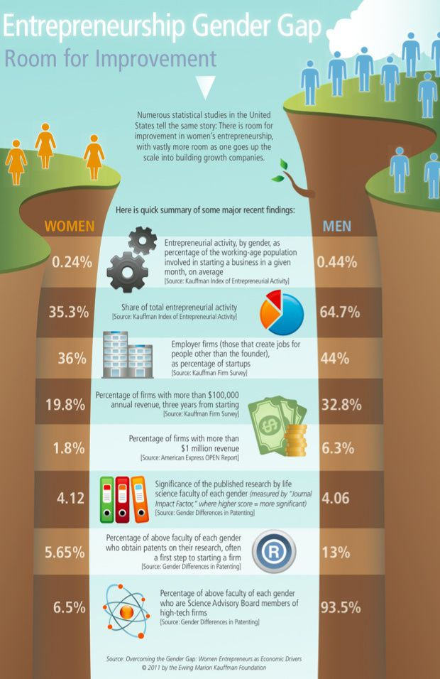 Entrepreneurship Infographic, i.e. is there Room for Improvement?