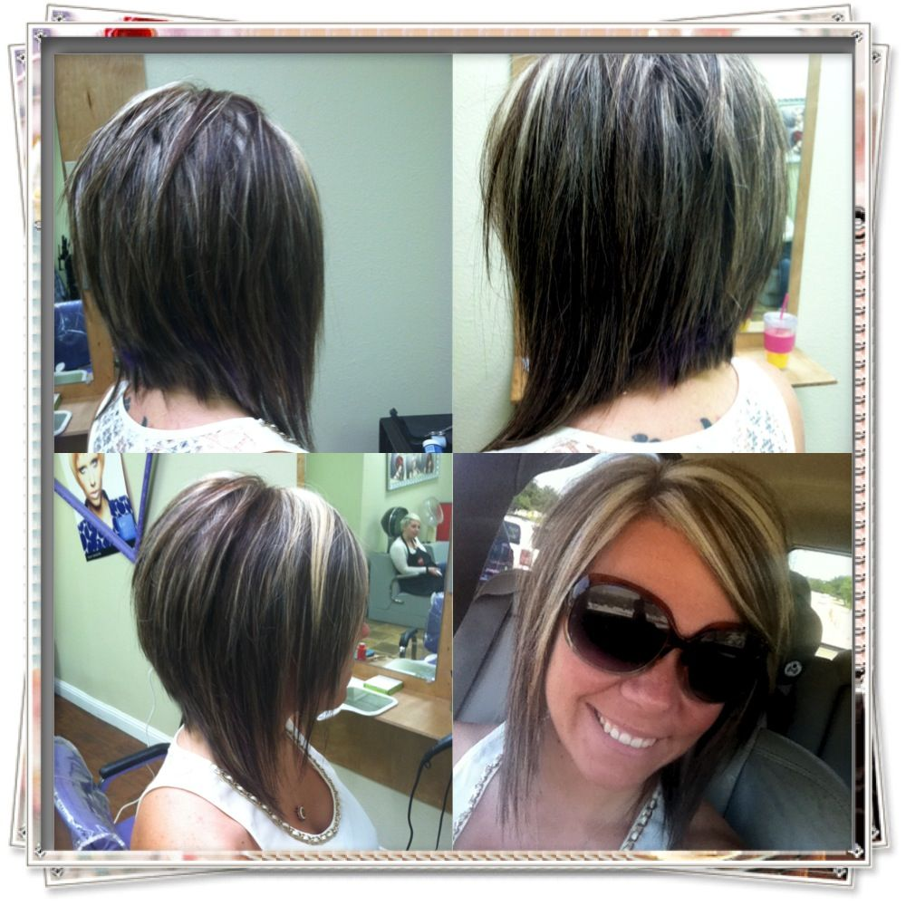 Swing Bob Cut Color Hairstyles Pinterest Hair Styles Hair