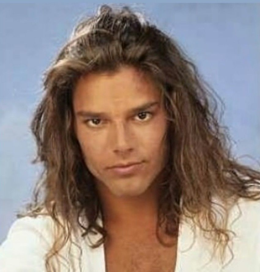 Pin By Polo On Ricky Martin Ricky Martin Long Hair Styles Mens Hairstyles