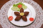 Easy kibbeh or kubbeh recipe... this is one of my favorite Middle Eastern appetizers. It is somewhat challenging to make, but very worth the effort!