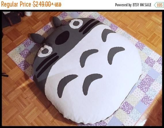 LIMITED TIME OFFER Totoro Bed Bean Bag Chair Floor Cushion