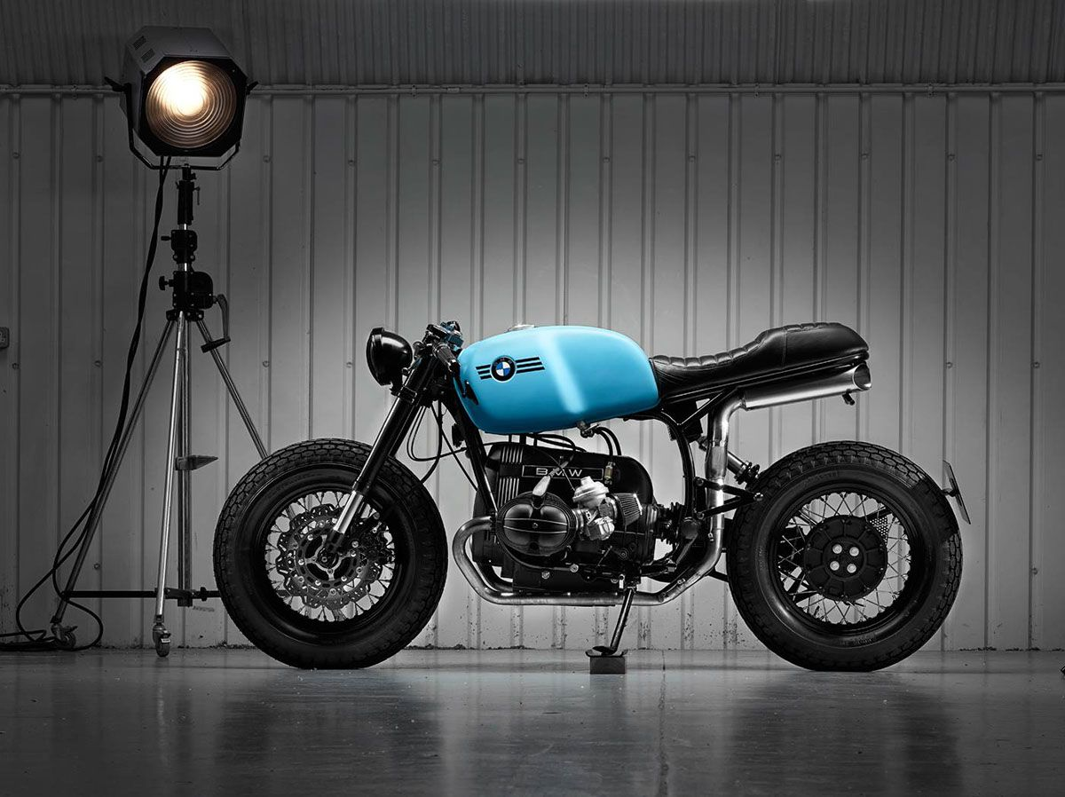 BMW R 110 R - THE LAST OF THE AIRHEADS on Behance