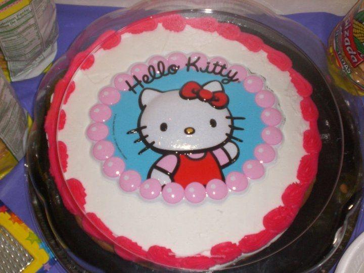Fun Ideas For Kids Parties On Pinterest Hello Kitty Cake