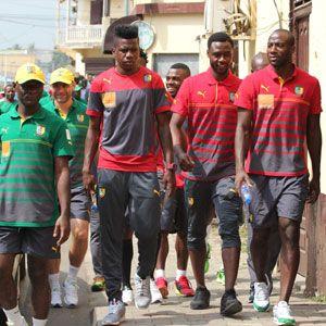 Burkina Faso Vs Cameroun: Les joueurs locaux sont arrivés à Paris :: CAMEROON