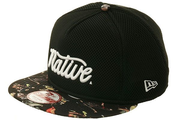 0ad367725d5 Fitted Hawaii Native Vanquish D2 Mesh Snapback Hat