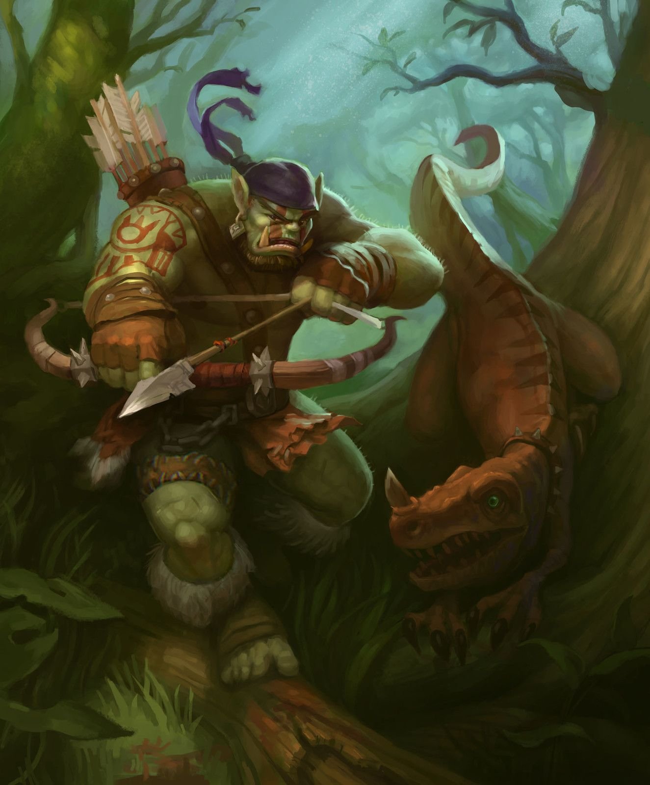 Pin by Kevin Daignault on Fantasy - Half-Orcs/Orcs | World