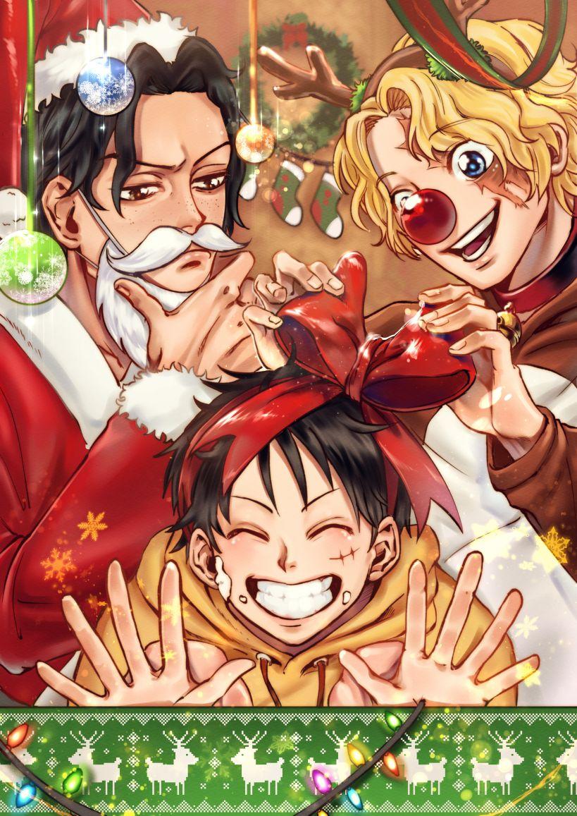 Asl X Mas One Piece Anime One Piece Manga Anime Christmas