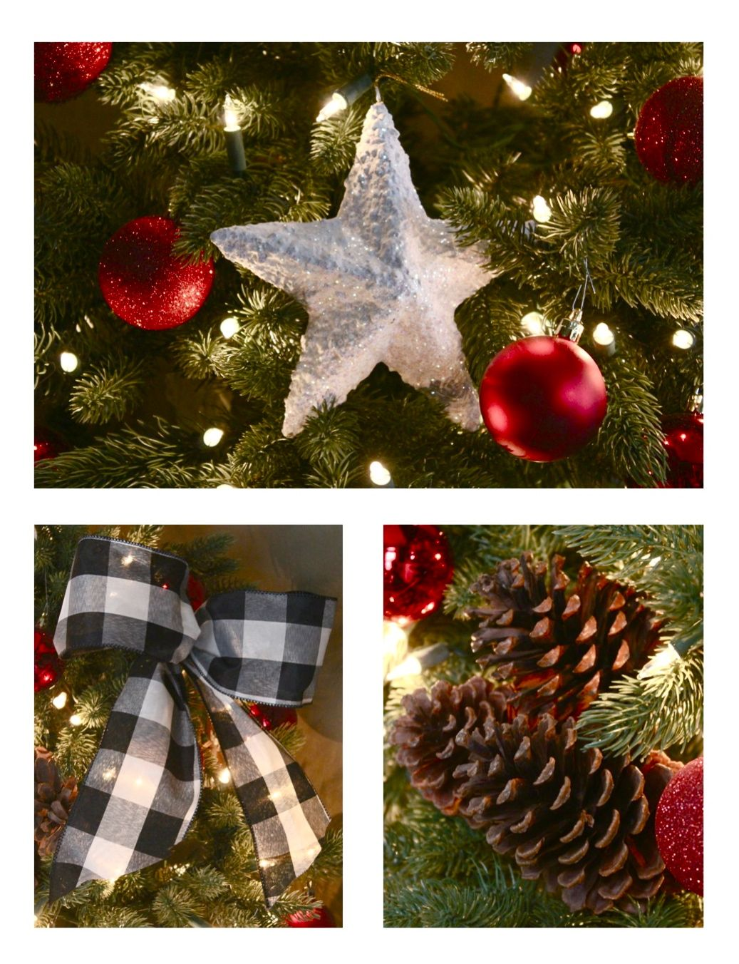 Black People Decorating For Christmas the yellow cape cod: our 2014 cabin christmas tree~12 bloggers of