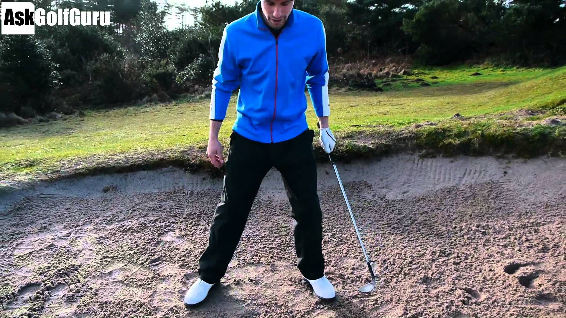 How To Play A High Bunker Shot With Stop