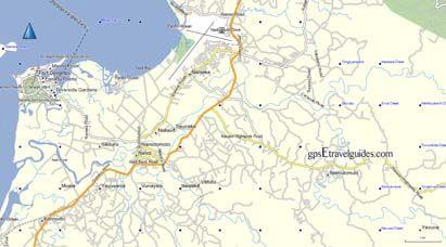 Fiji GPS map Nadi voice GPS directions Fiji Garmin Map GPS