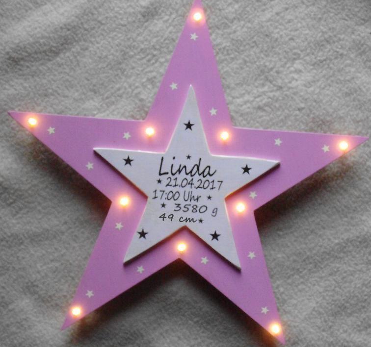 Bezaubernde Sternchen Wandlampe Mit Schalter Energieangaben Zur 10 Er Lichterkette Fur Steckdose Vbs Geschenke Zur Geburt Geschenke Geschenke Zur Geburt Junge