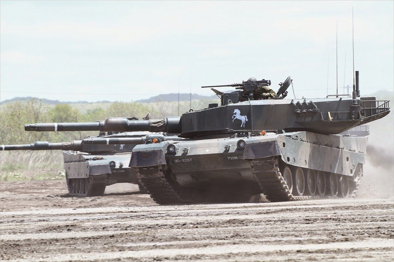 f704a2459428 Type 90 MBT Japan Ground Self-Defense Force