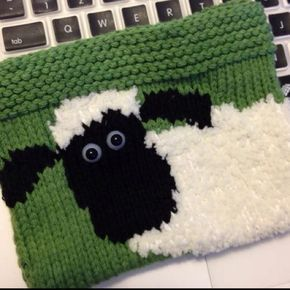 1fd6b83fc1d Shaun the Sheep DS Case pattern by Kirstie McLeod