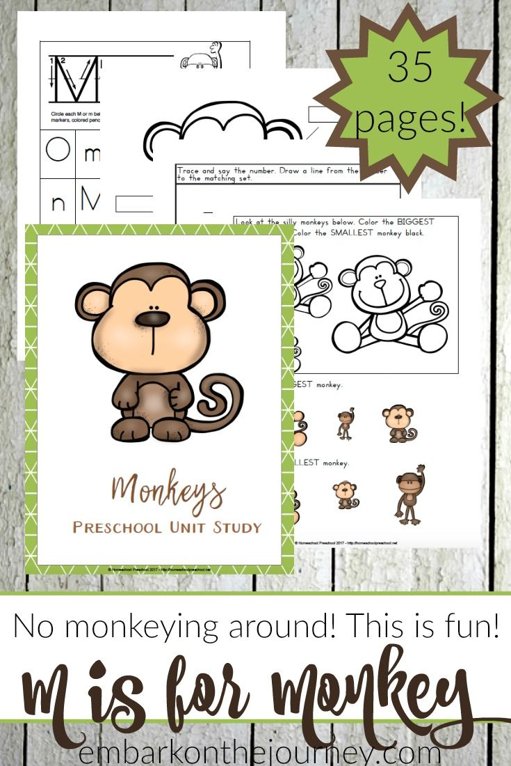 Printable Preschool Monkey Activities Preschool Apple Activities Preschool Activities Preschool Crafts [ 1100 x 735 Pixel ]