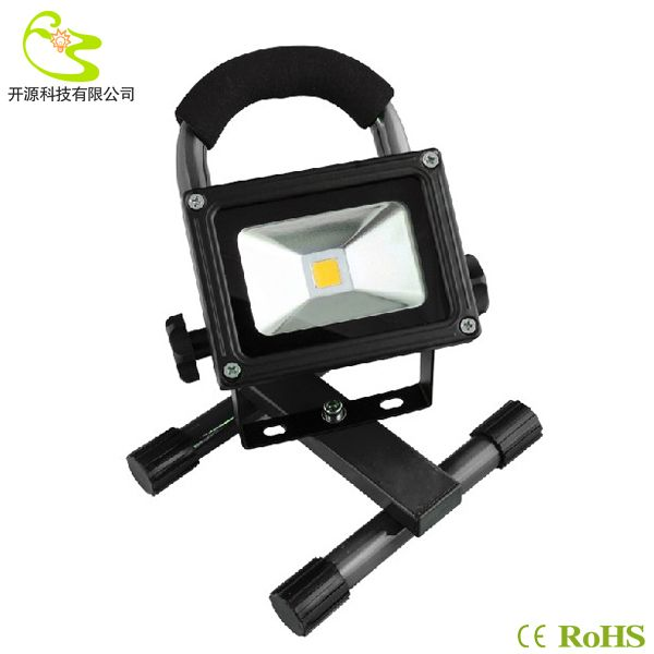 Free Shipping 10w Rechargeable Led Light Ip65 Waterproof 1000lm 85 265v Led Portable Flood Light 10w 147 50 Flood Lights Led Lights Led