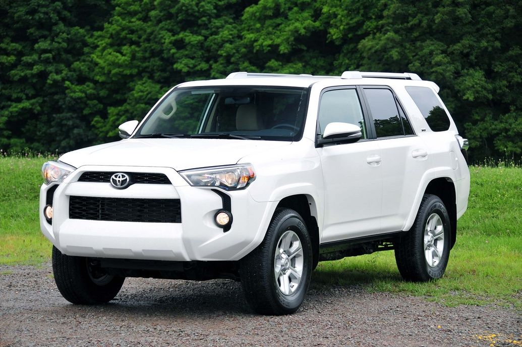 2017 White Four Runner
