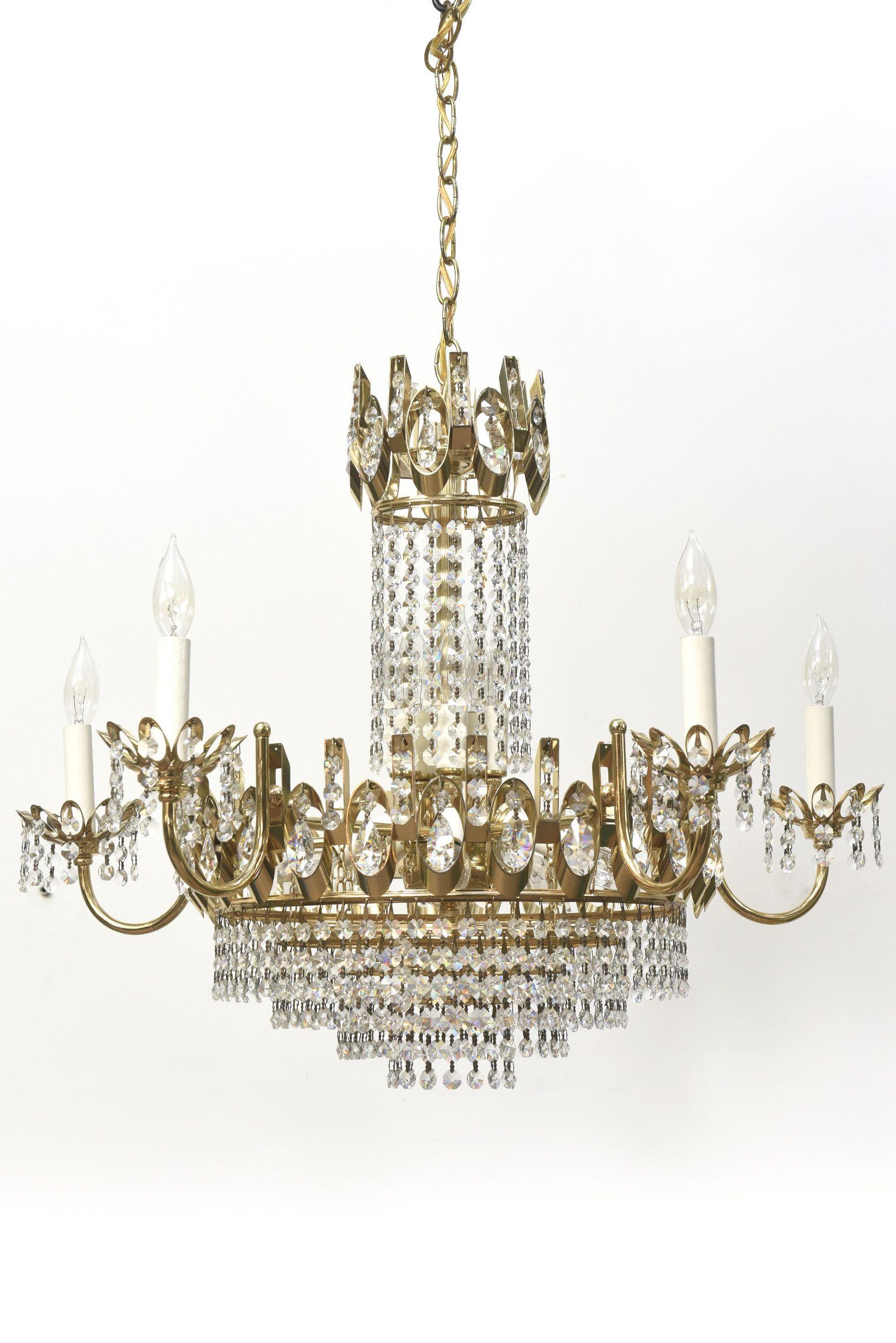 Vintage Strass Crystal Chandelier Chandelier Crystal Chandelier Hanging Light Lamp