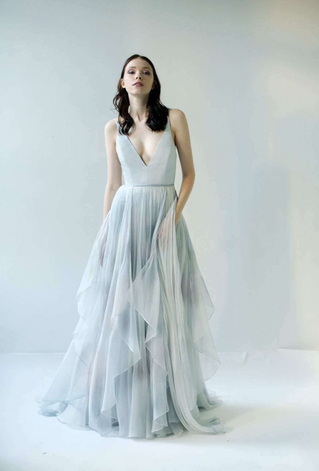 Leanne Marshall Raincloud, $2,850 Size: 4 | New (Un-Altered) Wedding ...