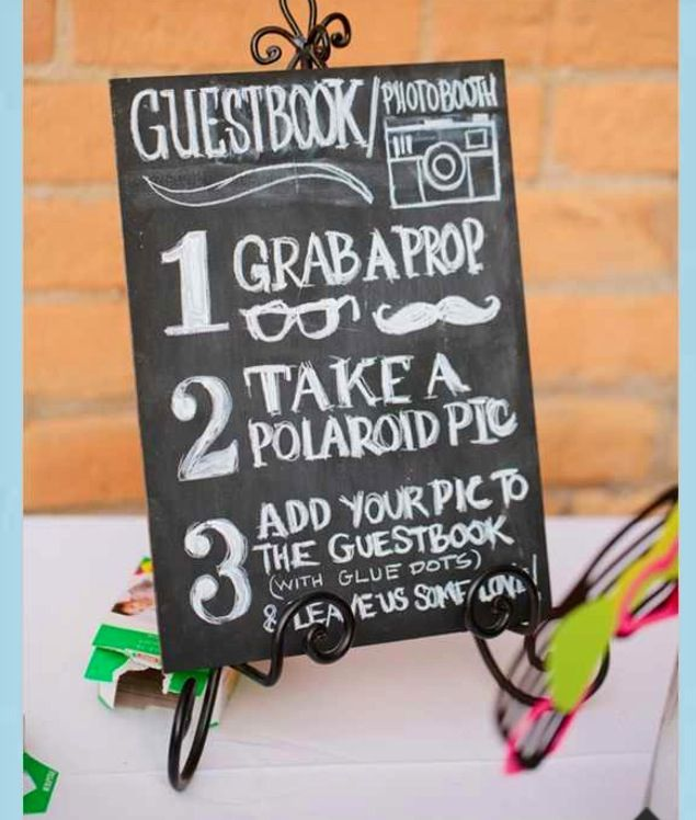 Cute Wedding Guest Book Ideas: Super Cute Guest Book Idea For A Guest Activity While Your