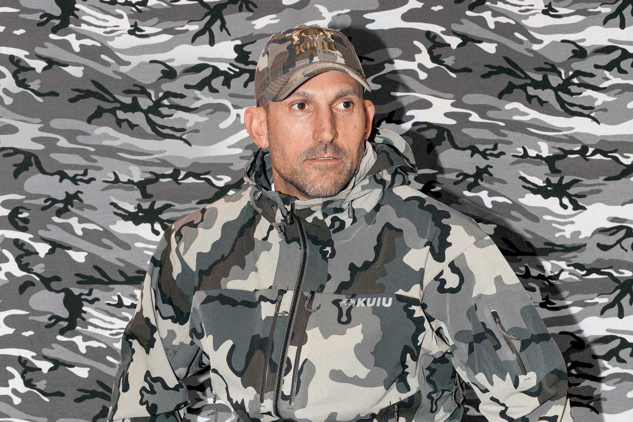 Jason Hairston, Kuiu's founder.  I'm not a hunter, but this stuff's pretty cool.