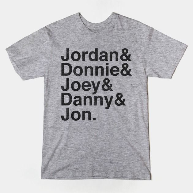 Modern Nkotb T Shirt Music Shirts Movie