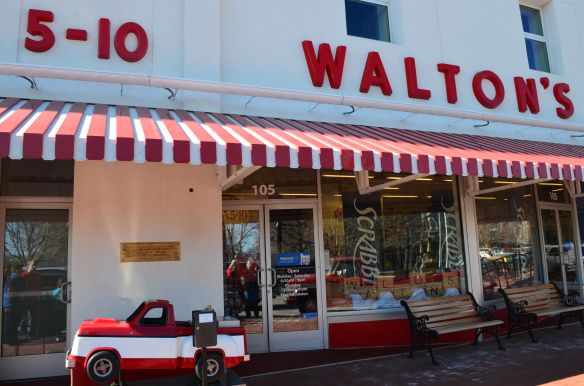 Sam Walton History Tour And Walton S 5 10 In Bentonville Ar Video At Www Recipesforourdailybread Com Travel Walmart Museum American Travel Arkansas Tourism