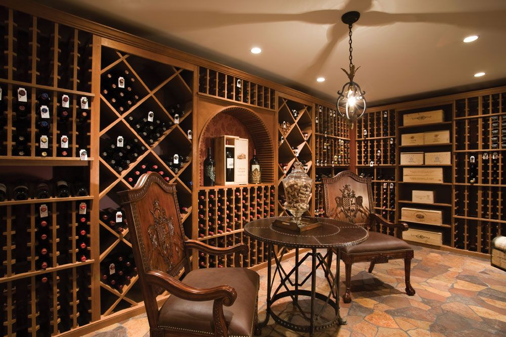 Merveilleux Room · Wine Cellar Design Ideas ...