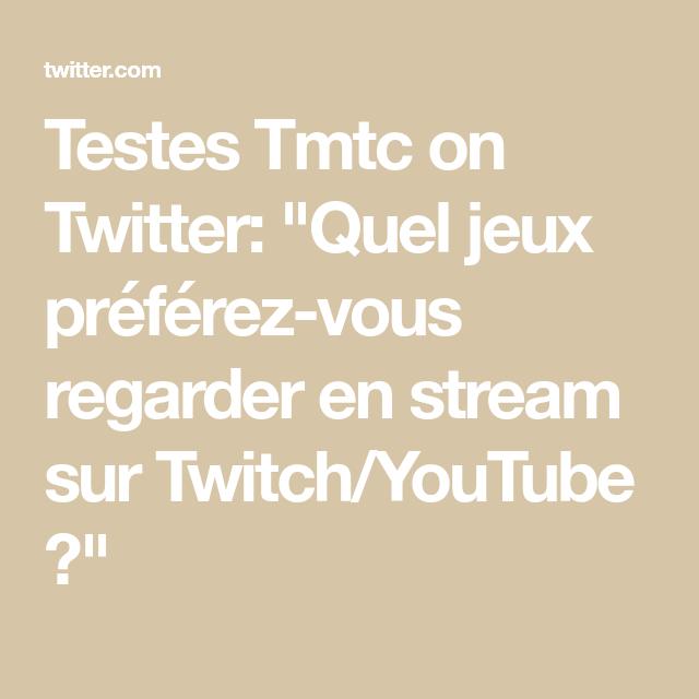 Testees Stream