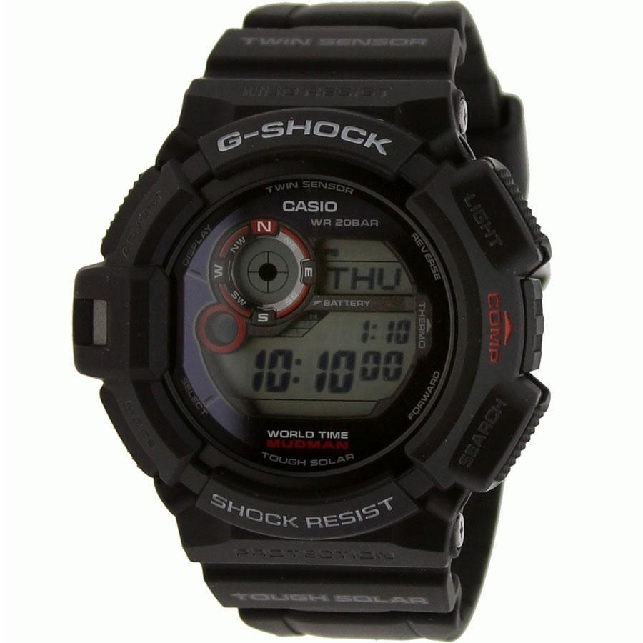 Casio G-Shcok Mudman Scorpion Watch in black