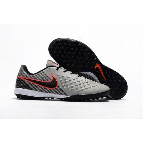 super cute 6cae1 d7d4a 2017 Nike Magista Orden II TF Chaussures de Foot Gris Noir