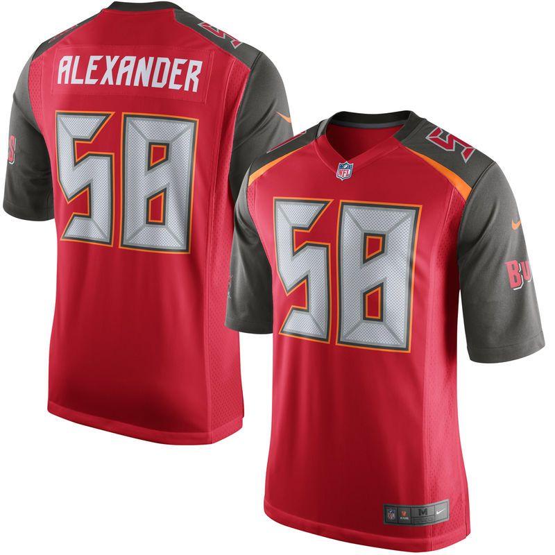 Kwon Alexander Tampa Bay Buccaneers Nike Game Jersey Red Nfl Jerseys For Sale Tampa Bay Buccaneers Nfl Jerseys