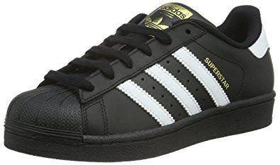 size 40 a7782 27d2b adidas Superstar Foundation, Unisex-Kinder Sneakers, Schwarz (Core  BlackFtwr White