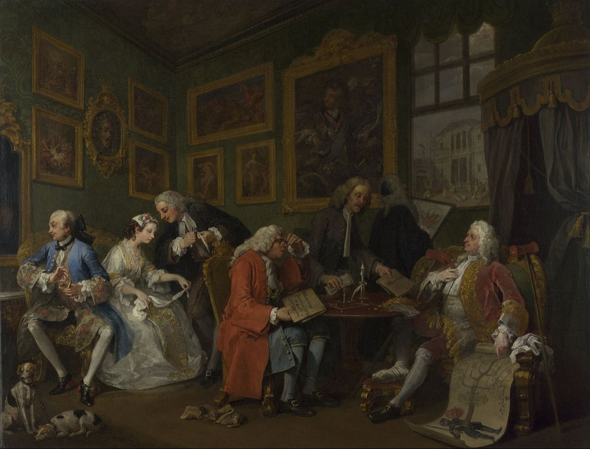 The Marriage Settlement Is The First In The Series Of Six