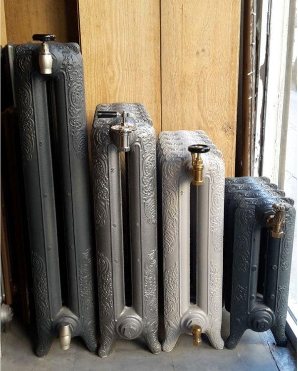 radiateurs en fonte fleuris pour chauffage central mod les de robinet de gauche droite. Black Bedroom Furniture Sets. Home Design Ideas
